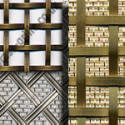 interwoven brass and stainless steel range