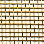 brass wire mesh - 3mm holes, 1mm wire
