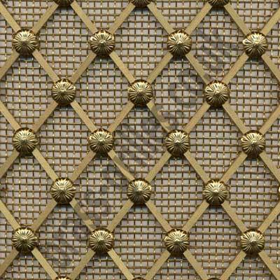 Grille Metal Decorative : regency brass grille decorative metal by brass grilles uk ~ Teatrodelosmanantiales.com Idées de Décoration