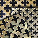 perforated solid brass grille sheets